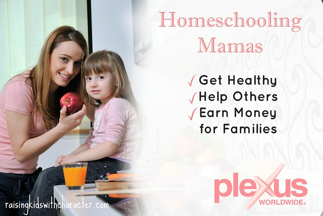 Homeschooling Mamas Get Healthy, Help Others, and Earn Money for the Families!