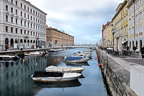 Trieste from life of Italo Svevo