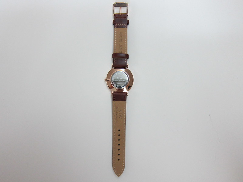 DW - Classy St Mawes Watch Rose Gold (34mm) - Back