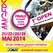 1er Open international 2014 d'Angers, PSA - 5000$