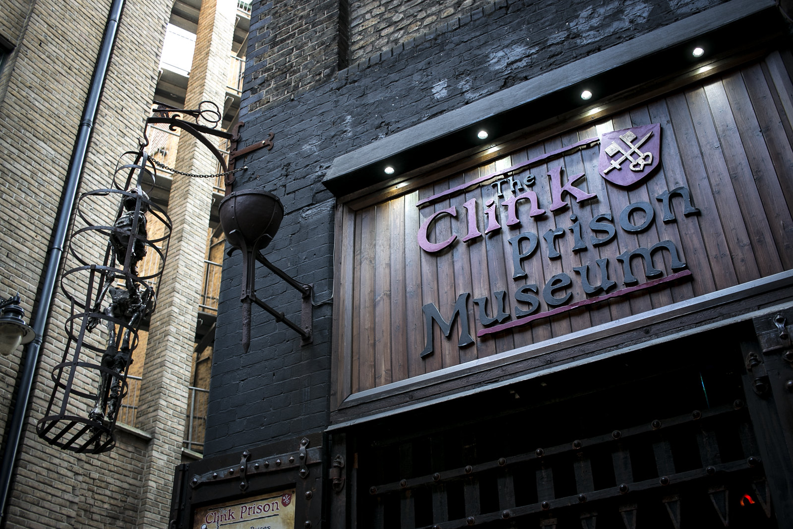 the clink, prison museum, the clink london