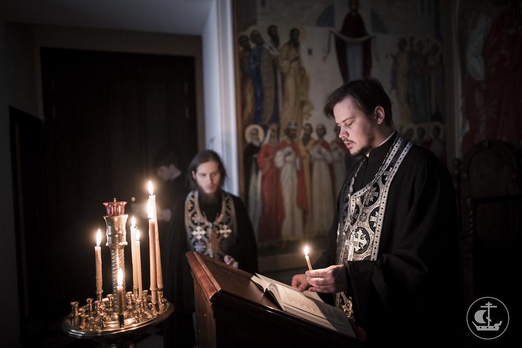 17 марта 2016, Четверг Первой седмицы Великого поста. Вечер / 17 March 2016, Thursday of the 1st Week of Great Lent. Evening