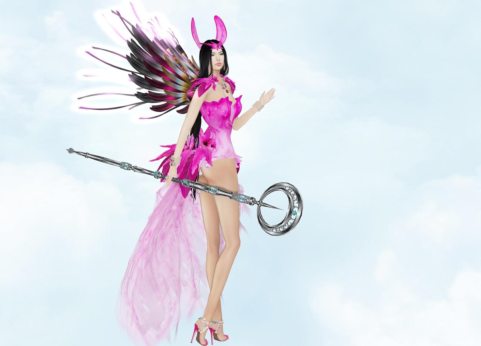 BamPu Legacies - Spring Fairy Charm