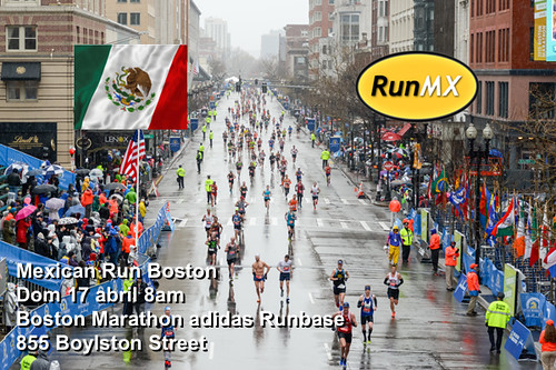 Mexican Run Maratón de Boston 2016