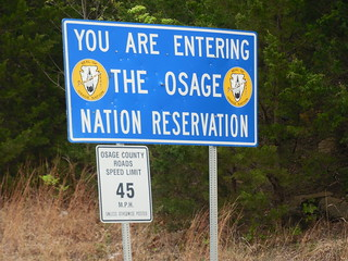 Osage Reservat in Oklahoma