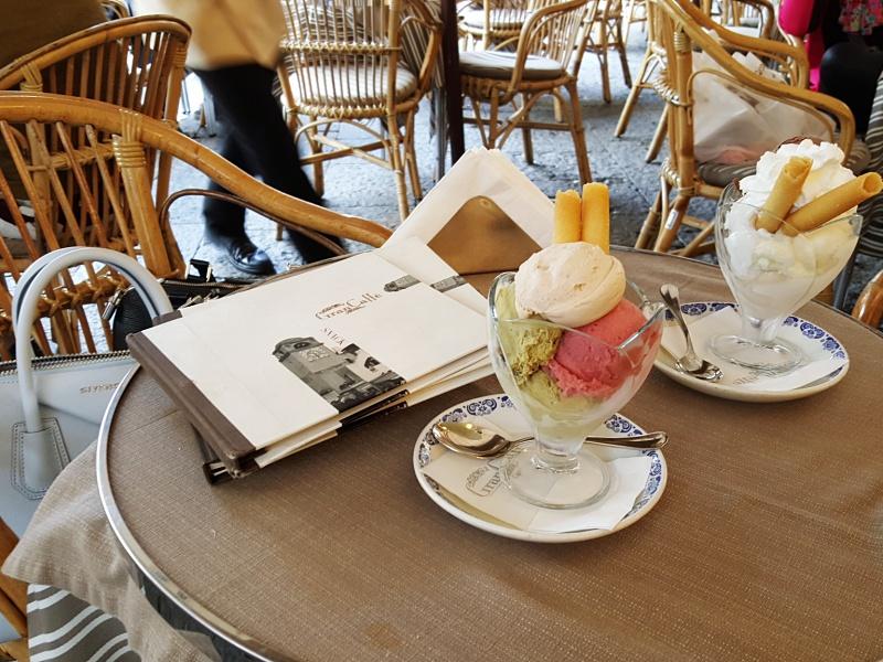 Gran Caffe Capri gelato