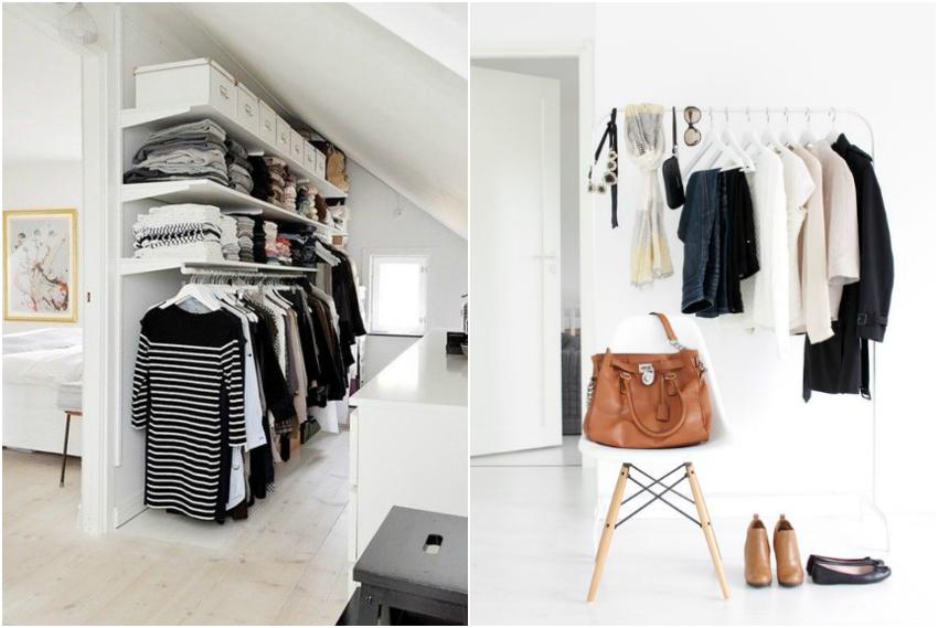 63 deco vestidores y almacenaje de ropa paso a paso - Organizar armarios ropa ...