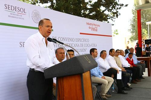 SEDESOL y la Industria Mexicana de Coca-Cola firman convenio - 1