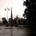 Rainy day on Cartago's main square