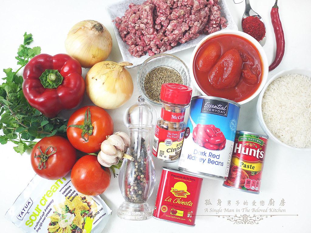 孤身廚房-墨西哥辣醬佐香米2