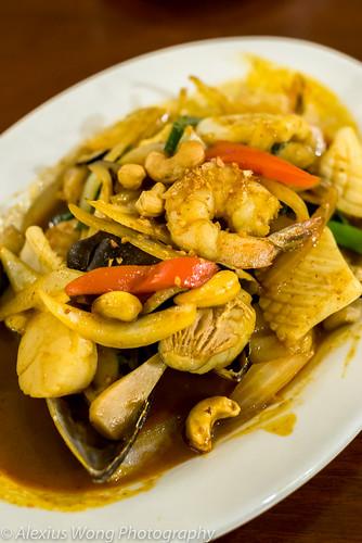 Seafood Prik Prao