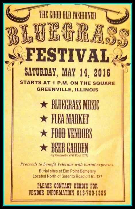 Bluegrass Festival 5-14-16