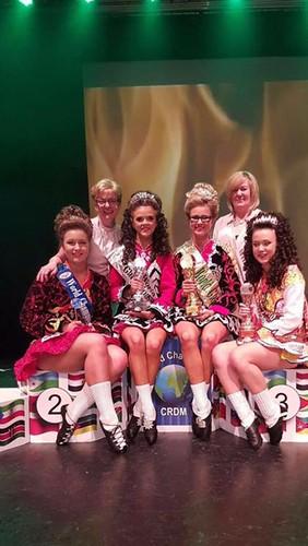 Jemma Stewart - 2nd at the World Irish Dancing Championships