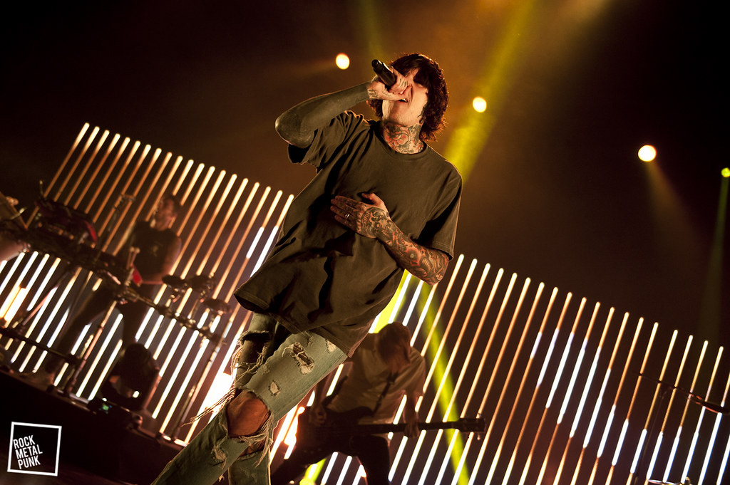 Bring Me The Horizon @ AB Brussels // Shot by Daria Colaes