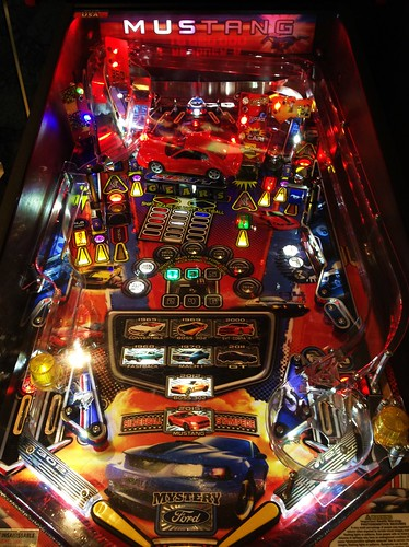 MUSTANG PRO / Playfield