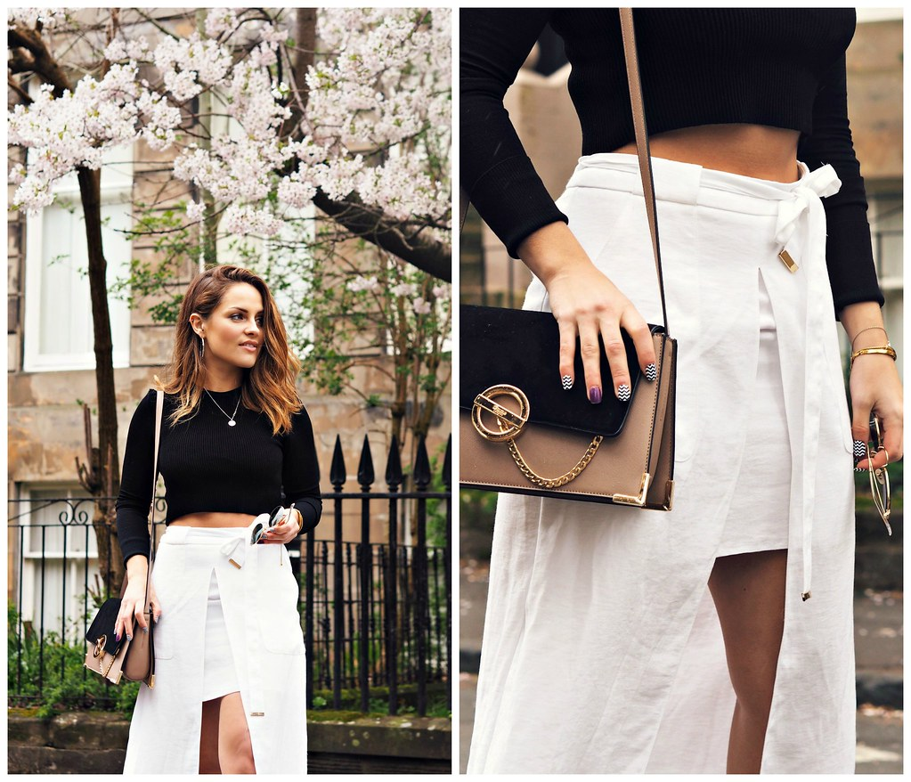 The Little Magpie White Midi Skirt 10