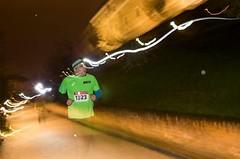 Deštivý Night Run přilákal rekordní počet běžců