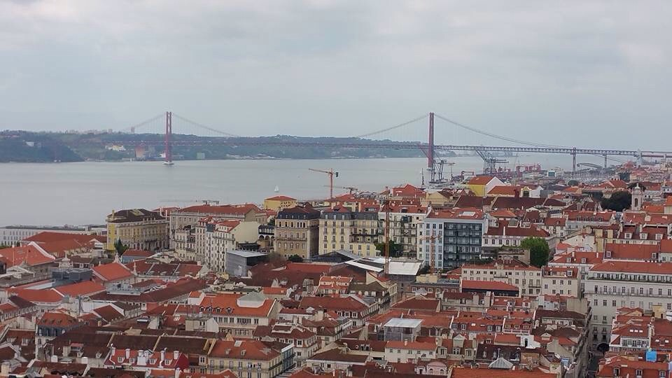 .. looking over Lisbon ..