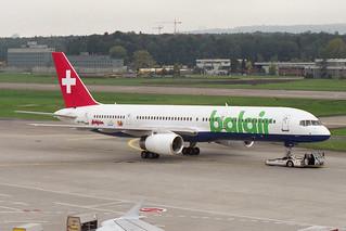 """Balair Boeing 757-2G5 HB-IHR """"Solemar"""""""