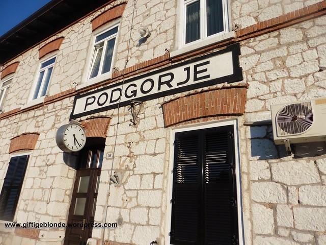 Bahnhof Podgorje