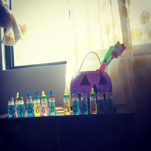 Nati's bubble bottles