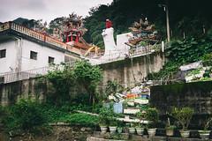 Overgrown Yilan Temple, Taiwan