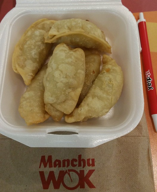 2016-Jan-12 Manchu Wok - lemongrass chicken potstickers