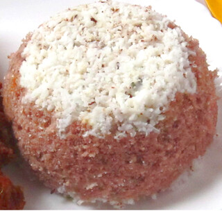 Njavara(Navara) rice Puttu