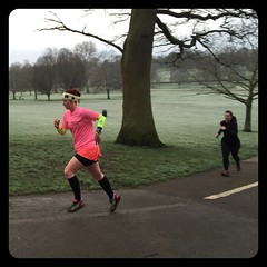 Sprint finish #janathon #parkrun