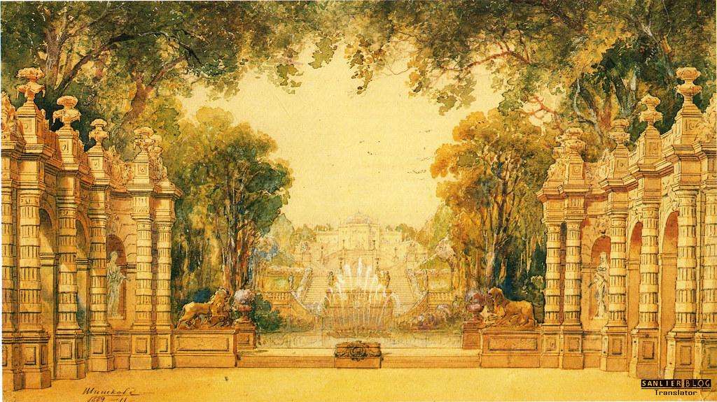 19世纪芭蕾剧舞台设计05