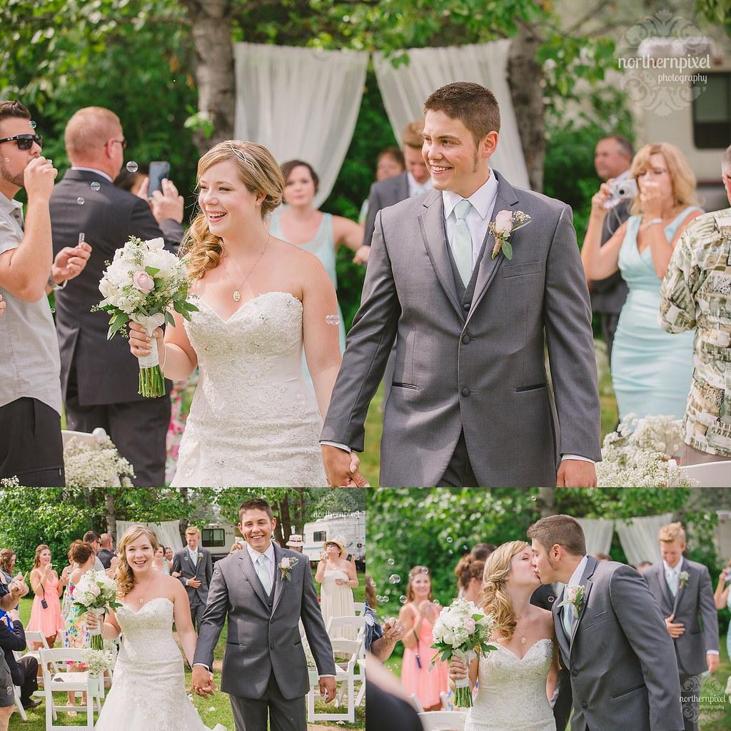 Francois Lake Wedding Ceremony