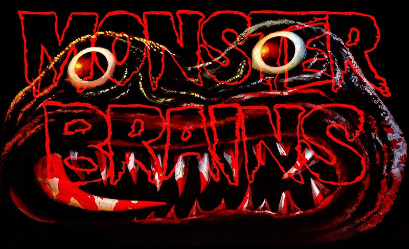 MONSTER  BRAINS LOGO - AERON ALFREY ESIGN