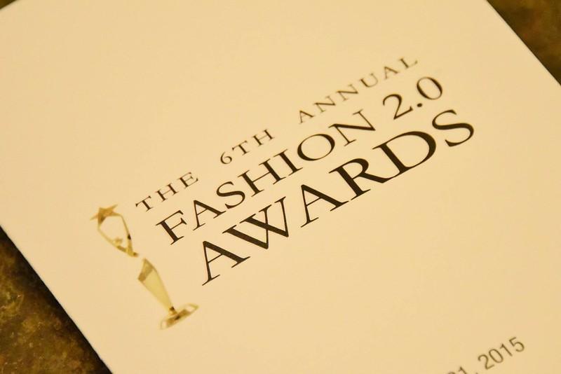 2015 Fashion 2.0 Awards