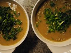 Rettich Kimchi - Suppe
