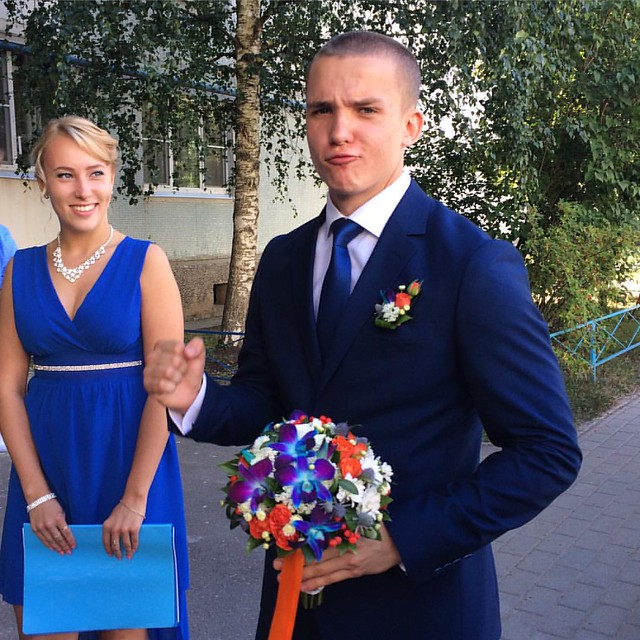 The best day! My amazing cousin is getting married! #машаиолег #russia #novgorod #wedding #superman