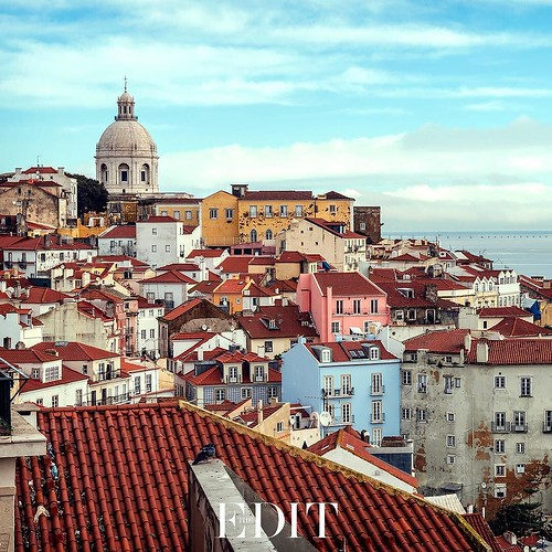 #FashionBoss Whether you're looking to spa, surf, sightsee or shop, coastline capital #Lisbon has everything you need for an ultra-laid-back #city break. #THEEDIT by netaporter #wa237 #fearlessness