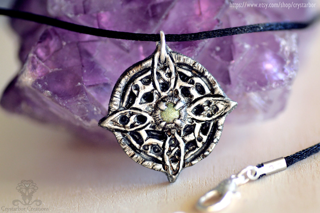 Amulet of Mara Skyrim necklace   Polymer clay Crystarbor h…   Flickr