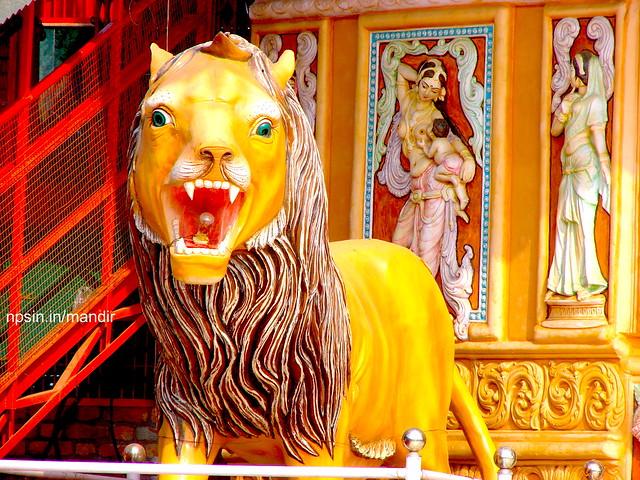 Lion, Ride of Maa Vaishno Devi therefore called Sherawali Maa