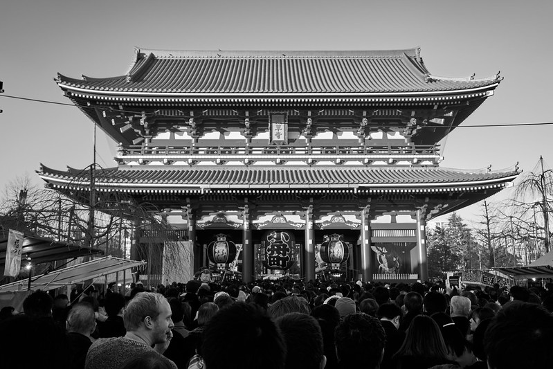 A6000  New Year's visit to a Senso-ji