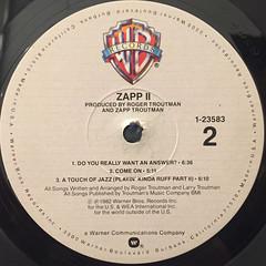 ZAPP:II(LABEL SIDE-B)