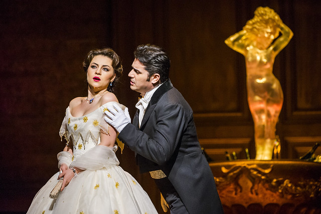 Venera Gimadieva and Saimir Pirgu in La traviata © ROH 2016. Photo by Tristram Kenton