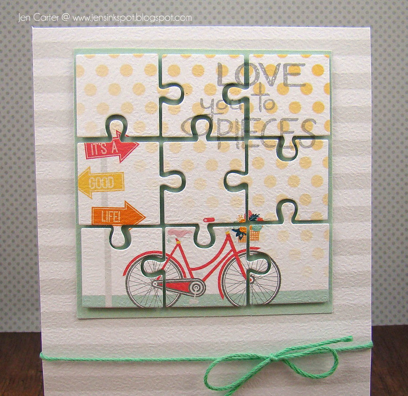 Jen Carter Puzzle Love Pieces Closeup