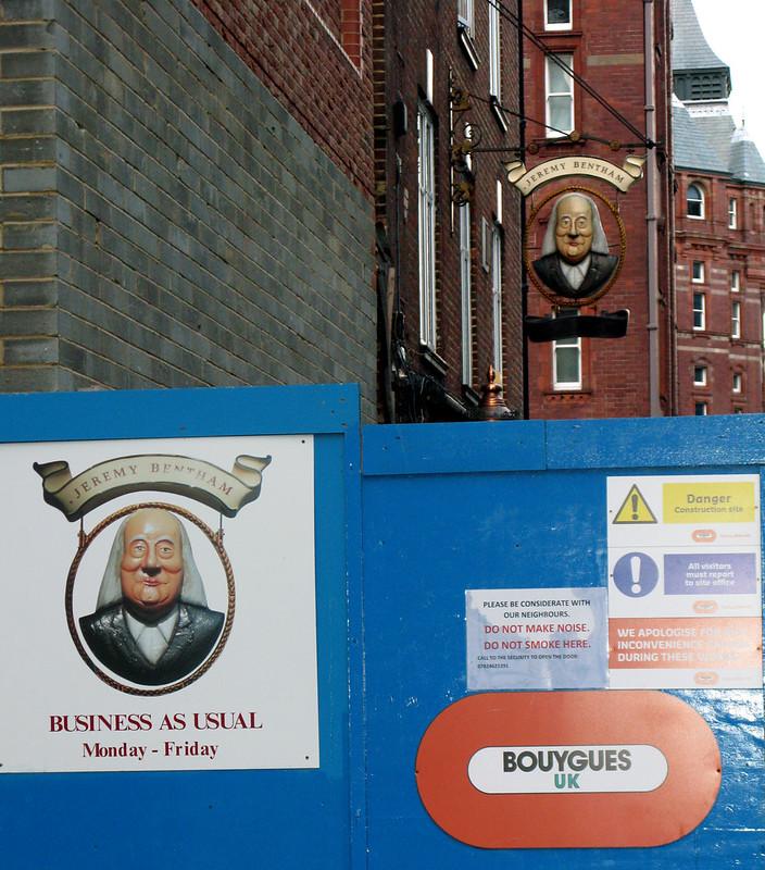 Jeremy Bentham pub