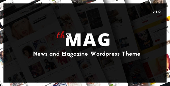 ThemeForest TheMag v1.3.1 - WordPress Magazine Theme with Paid Article Submission System and BuddyPress Support