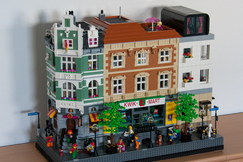 Lego Simpsons Buildings