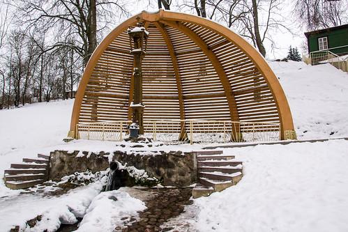 winter town sony springs lithuania lietuva žiema mariukasm sal16105 miesteliai vietovės kavarskas šaltiniai kavarskasspring kavarskošaltinis
