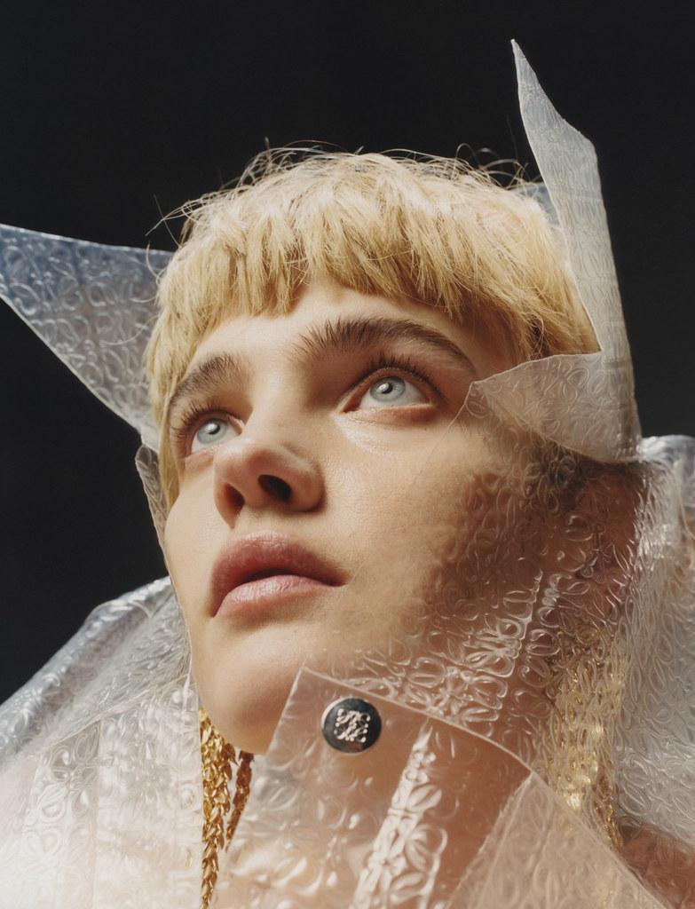 Наталья Водянова — Фотосессия для «Pop» 2016 – 12