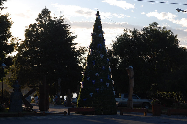 Christmas in Pucón, Chile