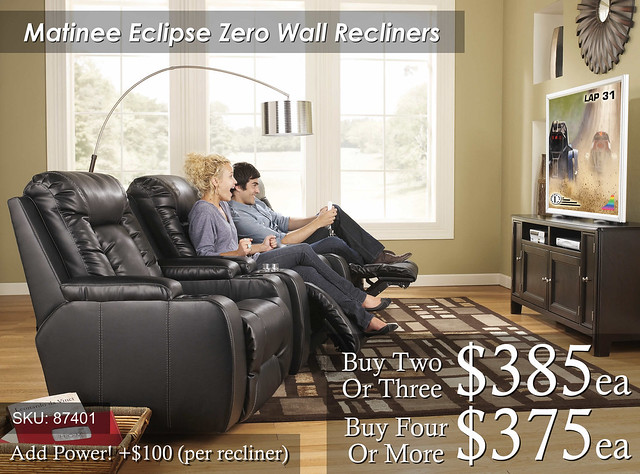 Matinee Eclipse Zero Wall Recliners