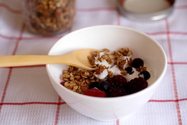 Plato de granola
